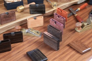 Hand made process for Wooden wallets